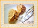 Tacos di parmigiano croccante con hamburger e verza all'aceto balsamico