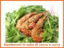 GAMBERONI IN SALSA DI COCCO E CURRY